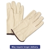 4000 Series Pigskin Leather Driver Gloves, Large, Yellow, 12 Pairs