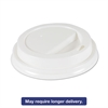 Hot Cup Lids for 10oz - 16oz Cups, White, Plastic, 50/PK, 20 PK/Carton