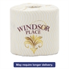 Windsor Place Premium Bathroom Tissue, 2-Ply, 4 1/2 x 4, 500/Roll, 80/Ctn