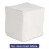 Boardwalk DRC Wipers, White, 12 x 13, 12 Bags of 90, 1080/Carton