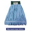 Microfiber Mop Head, Wet Mop, Medium, Blue