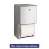 "ConturaSeries Two-Roll Tissue Dispenser, 6 1/16"" x 5 15/16"" x 11"""