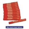 Dixon Lumber Crayons, 4 1/2 x 1/2, Red, Dozen