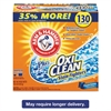 Power of OxiClean Powder Detergent, Fresh, 9.92lb Box, 3/Carton