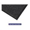 Crown Marathon Wiper/Scraper Mat, Polypropylene/Vinyl, 36 x 60, Anthracite