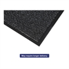 Marathon Wiper/Scraper Mat, Polypropylene/Vinyl, 36 x 60, Anthracite