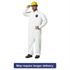 Tyvek Coveralls, White, Medium, 25/Carton