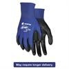 Memphis Ultra Tech Tactile Dexterity Work Gloves, Blue/Black, Medium, 1 Dozen