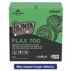 Brawny Industrial FLAX 700 Medium Duty Cloths, 9 x 16 1/2, White, 94/Box, 10 Box/Carton