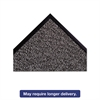 "Crown Dust-Star Microfiber Wiper Mat, 36"" x 120"", Charcoal"