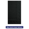 Hoffmaster Dinner Napkins, 2-Ply, 15 x 17, Black, 1000/Carton