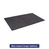 Tire-Track Scraper Mat, Needlepunch Polypropylene/Vinyl, 3' x 5', Charcoal
