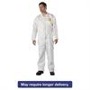 DuPont ProShield NexGen Coveralls, HD Polyethylene, White, Size 2X-Large, 25/Carton