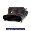 Precision Air Mover, 3400 FPM, Black, 22 x 16 1/2 x 11 1/2, 120 V