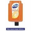 Dial Antimicrobial Liquid Soap, 15 oz Refill Cartridge, Refreshing Clean, 6/Ctn