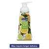 Sensorial Foaming Hand Soap, 8 oz Pump Bottle, Citrus Bliss, 6/Carton