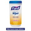 PURELL Hand Sanitizing Wipes, 5.7 x 7 1/2, Fresh Citrus Scent, 40/Canister