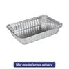 Aluminum Oblong Pan, Shallow, 1 1/2 lb, 8-19/32 x 6 x 1-1/4