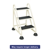 "Cramer Three-Step Stop-Step Aluminum Ladder, 32 3/4"" High, Beige"