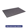 Crown Walk-A-Way Indoor Wiper Mat, Olefin, 48 x 72, Gray