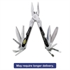 Folding 18-in-1 All-Purpose Stainless Steel Tool w/Belt Pouch