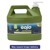 GOJO Ecopreferred Pumice Hand Cleaner, 1 Gal Pump Bottle, Lime Scent