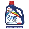 PUREX No Sort Liquid Laundry Detergent, Fresh Scent, 150 oz Bottle, 4/Carton