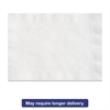 Hoffmaster Anniversary Embossed Scalloped Edge Tray Mat, 14 x 19, White, 1000/Carton