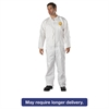 DuPont ProShield NexGen Coveralls, HD Polyethylene, White, X-Large, 25/Carton
