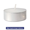 FancyHeat Tealight Candle, 5 Hour Burn, White, 500/Carton