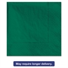 Beverage Napkins, 2-Ply, 9 1/2 x 9 1/2, Hunter Green, 1000/Carton