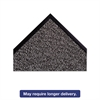 "Dust-Star Microfiber Wiper Mat, 36"" x 60"", Charcoal"
