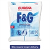Style F & G Disposable Dust Bags for Upright Vacuums, 3/PK, 6 PK/CT