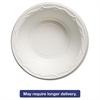 Genpak Aristocrat Plastic Bowls, 12 Ounces, White, Round, 125/Pack, 8 Packs/CT