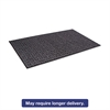 Crown Tire-Track Scraper Mat, Needlepunch Polypropylene/Vinyl,48 x 72,Anthracite