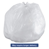 Commercial Can Liners, 55-60gal, 43 x 48, 14 Microns, Natural, 200/Carton