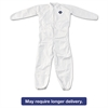 DuPont Tyvek Elastic-Cuff Coveralls, White, 4X-Large, 25/Carton