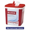 S.U.D.S. Single Use Dispensing System Towels F/Chlorine,10x12,110/Roll,6Rl/Ctn