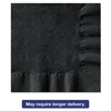 Beverage Napkins, 1-Ply, 10 x 10, Black, 1000/Carton