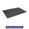 Crown Oxford Wiper Mat, 48 x 72, Black/Gray