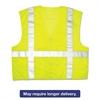 River City Luminator Safety Vest, Lime Green w/Stripe, 2X-Large