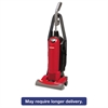 Sanitaire HEPA Filtration Upright Vacuum, 23 lb., 4.5 qt, Red