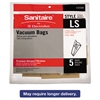 Eureka Commercial Upright Vacuum Cleaner Replacement Bags, Style LS, 5/Pack