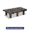 Rubbermaid Commercial Dunnage Rack, 2000 lbs, 48w x 24d x 12h, Duramold Resin/Metal Composite