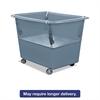 Royal Basket Trucks Poly Spring Lift, 23 x 35 1/2, 16 Bushel, Vinyl/Steel, Gray