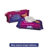 Royal Baby Wipes Refill Pack, Scented, White, 80/Pack, 12 Packs/Carton