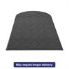 EcoGuard Diamond Floor Mat, Single Fan, 48 x 96, Charcoal