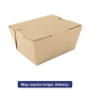 ChampPak Carryout Boxes, Brown, 4 3/8 x 3 1/2 x 2 1/2, 450/Carton