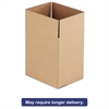 General Supply Brown Corrugated - Fixed-Depth Shipping Boxes, 11 1/4l x 8 3/4w x 12h, 25/Bundle