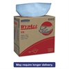 WypAll* X70 Wipers, POP-UP Box, 9 1/10 x 16 4/5, Blue, 100/Box, 10 Boxes/Carton